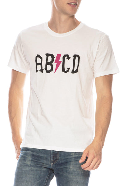 The Art of Scribble Sun-Tech ABCD T-Shirt at Ron Herman