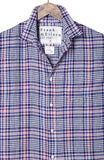 Mens Luke Linen Plaid Shirt