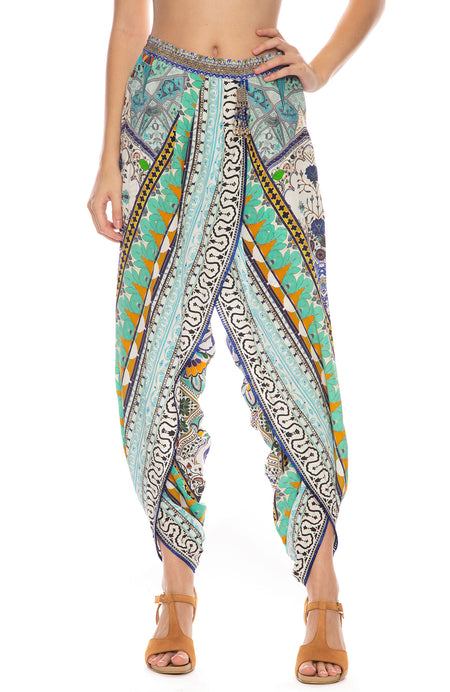 Everlasting Udaipur Wrap Front Trouser