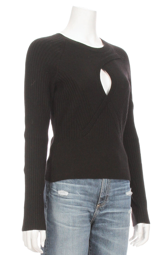 Twisted Keyhole Sweater