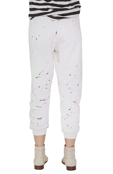 The Cropped Splatter Paint Sweatpant