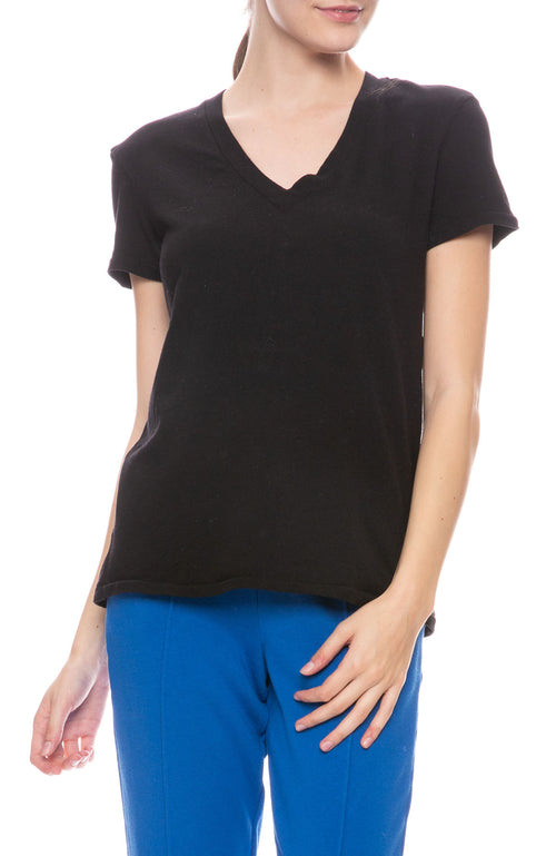 Heavy Jersey V Neck T-Shirt