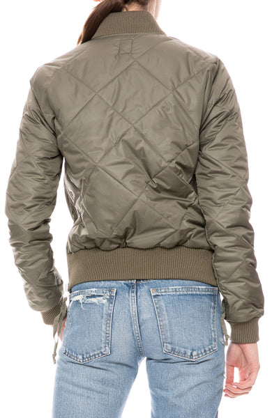 Neil Quilted Bomber Jacket