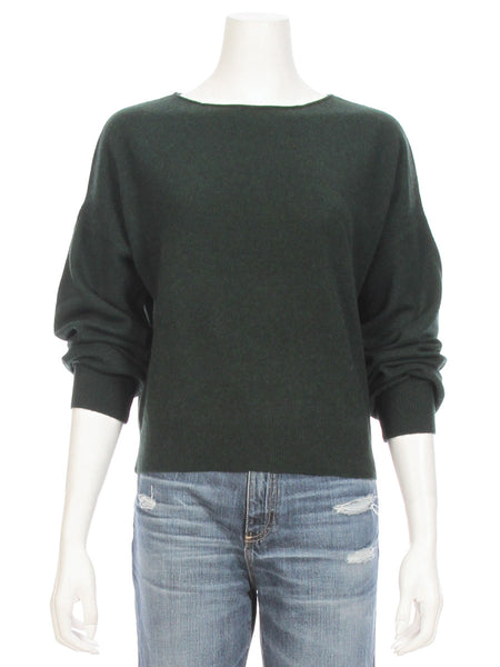 Zoe Cashmere Boatneck Sweater