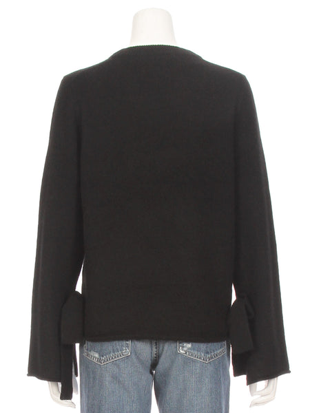 Erika Tie Sleeve Sweater