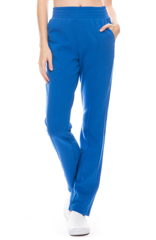 High Waist French Terry Sweatpant