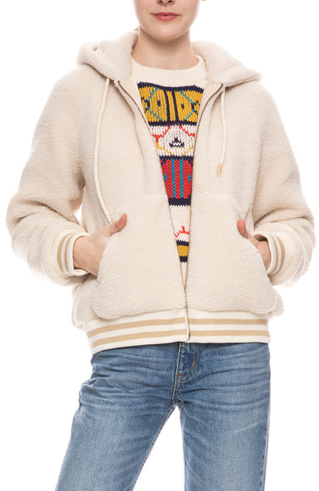Zip-Up Hoodie in Bundle of Joy