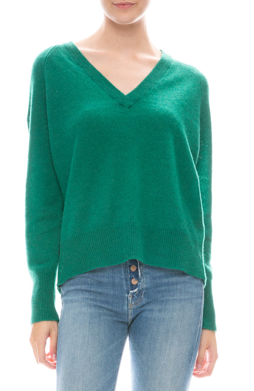 Callie V-Neck Cashmere Sweater