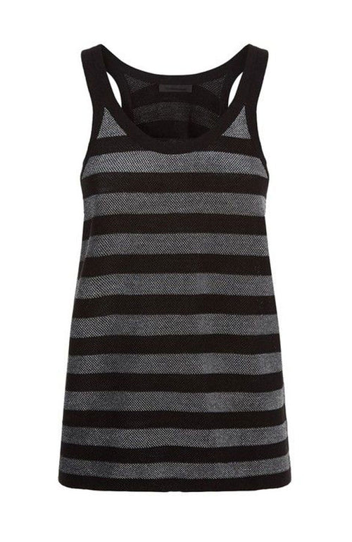 Striped Lurex Tank