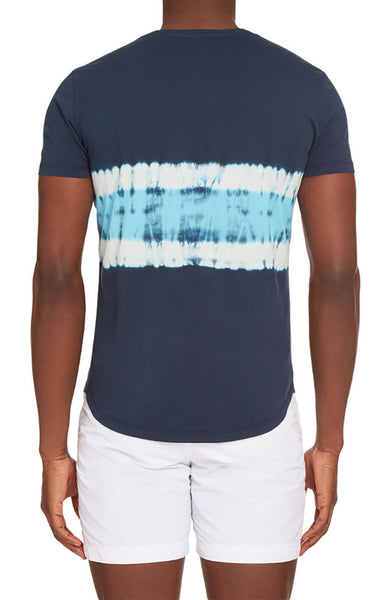 OB-Tie Dye Tailored Fit Crew Neck T-Shirt