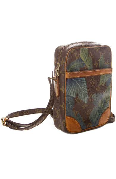 New Vintage Louis Vuitton Danube Palm Leaf Crossbody Bag at Ron Herman