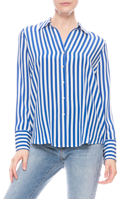 Brielle Stripe Blouse