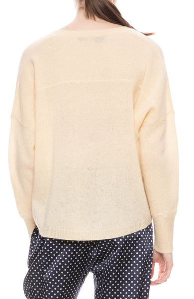Marina Deep V-Neck Sweater