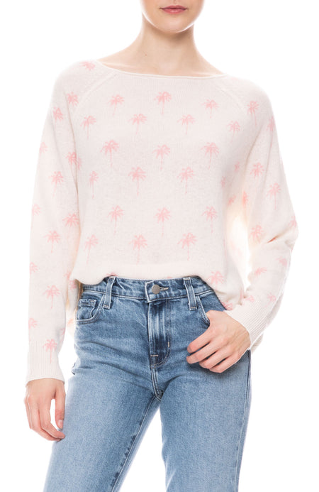 Zane Palm Tree Sweater