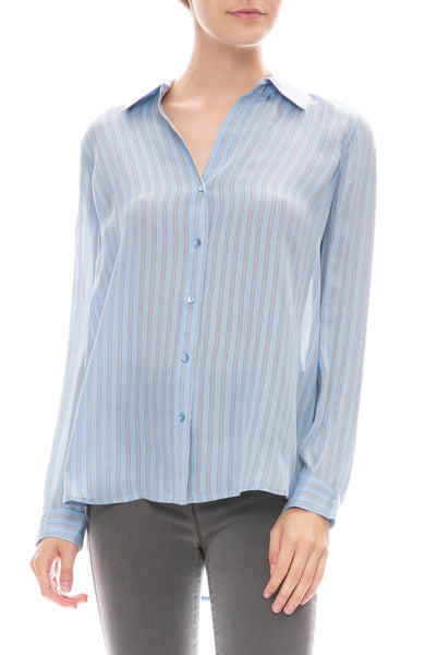 Nina Stripe Blouse