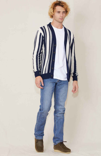 RH Exclusive Vertical Stripe Cardigan