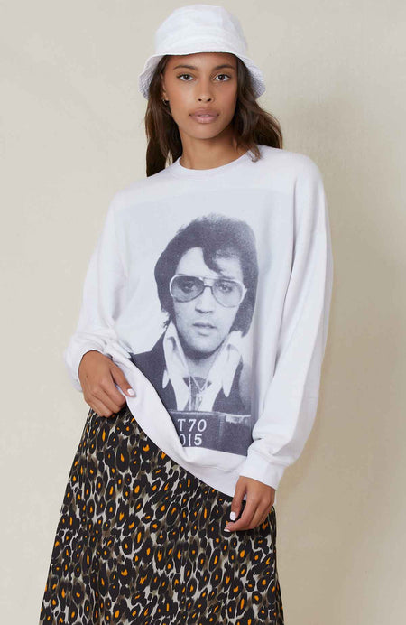 Elvis Oversized Crewneck