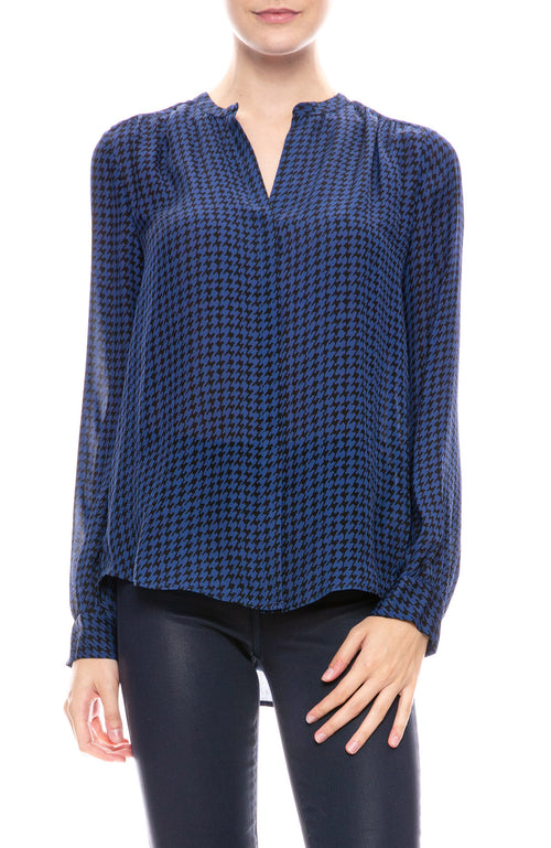 Bardot Band Collar Blouse