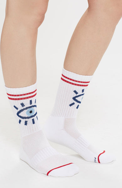 Mother Baby Steps Eyes Socks