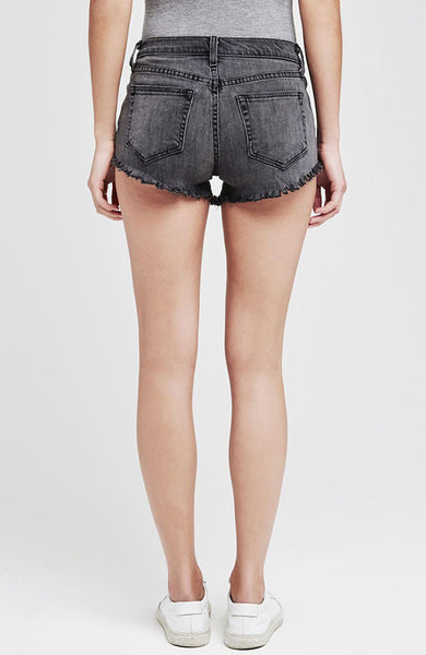 Zoe Perfect-Fit Shorts in Vintage Grey