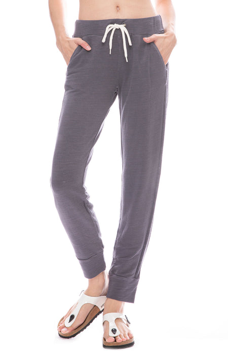 Sporty Sweatpant with Mesh Sides
