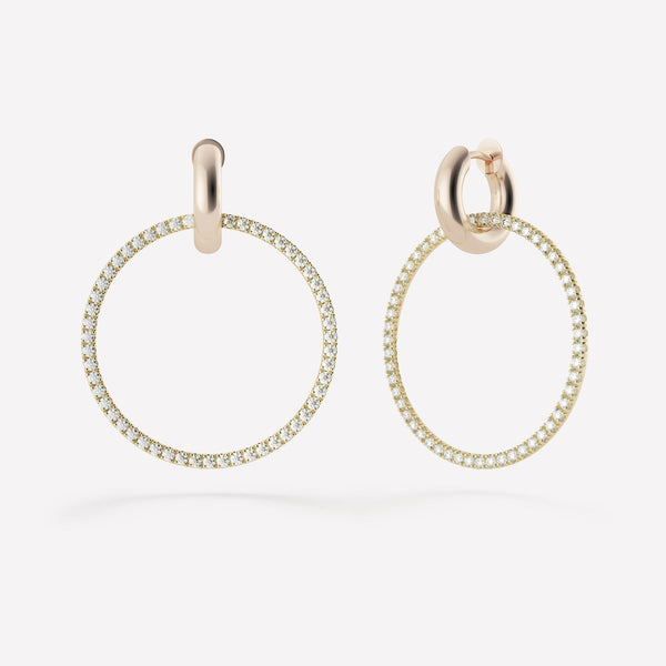 CASSEUS DIAMOND HOOPS