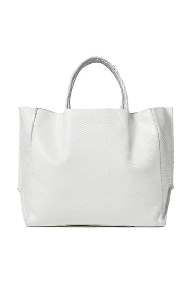 Leather Half Tote
