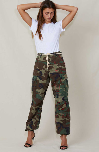 RILEY VINTAGE CAMO CARGOS Full shot