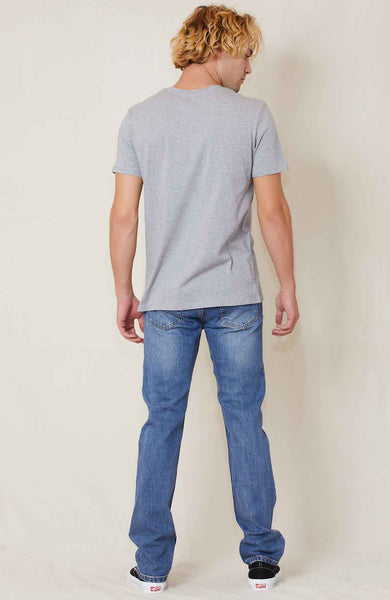 A.P.C. Small Logo Tee in grey