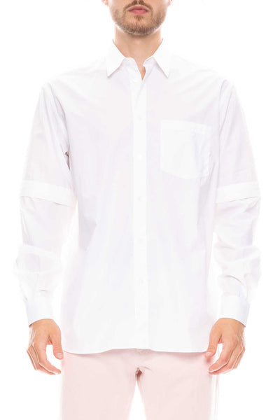 Saul Shirt with Detachable Sleeves