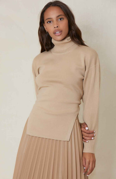 JONATHAN SIMKHAI Eleanor Tie Back Sweater