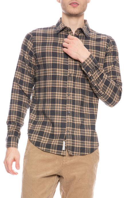 Plaid Basic Shirt