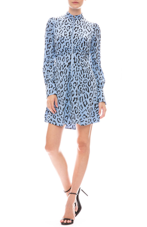 Marcella Leopard Print Dress