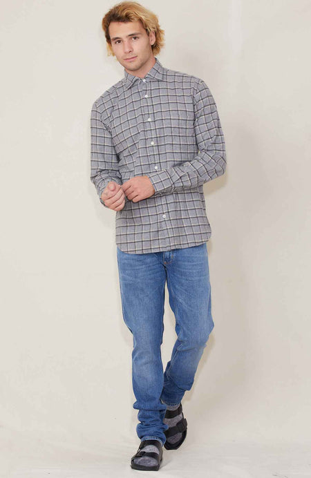 Paul Plaid Woven Shirt