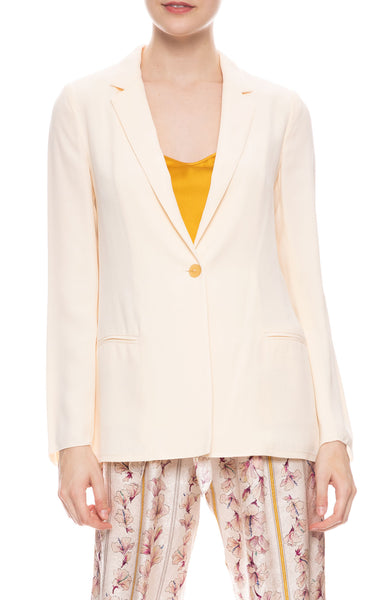 Envers Satin Crepe Jacket