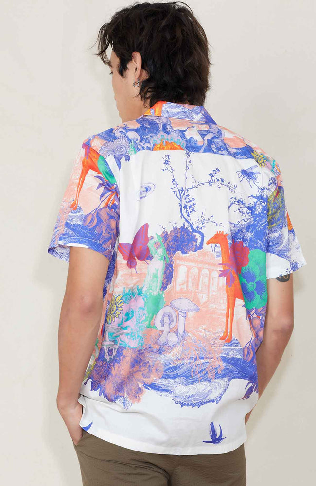 DOUBLE RAINBOUU Animal Kingdom Hawaiian Shirt