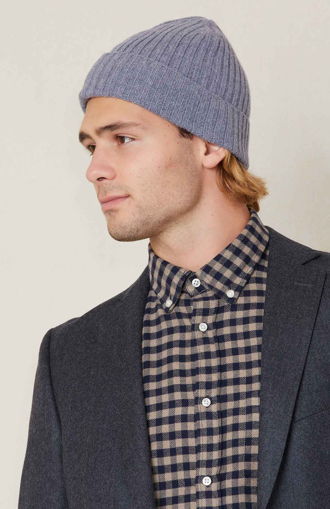Officine Generale Super Soft Italian Wool Beanie