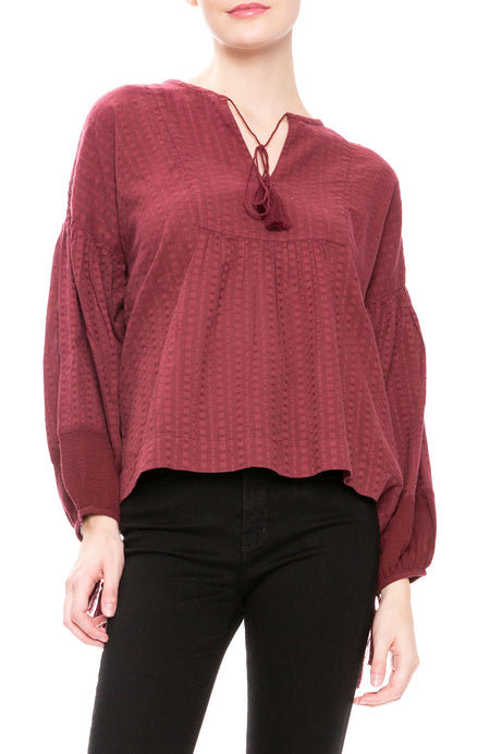 The Panel Tunic Top