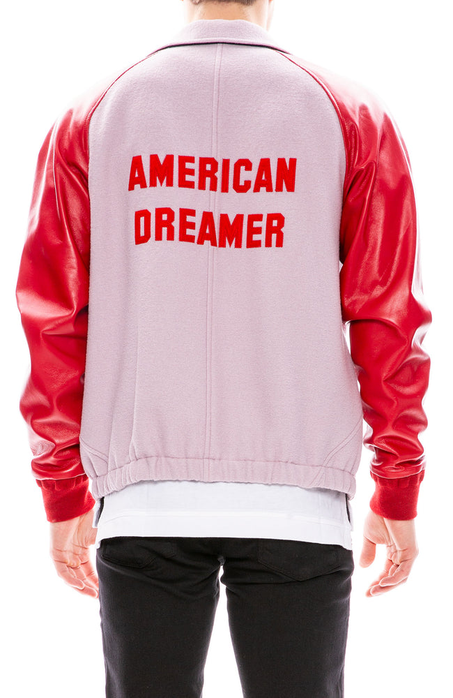 Tip Coppens American Dreamer Letterman Jacket at Ron Herman