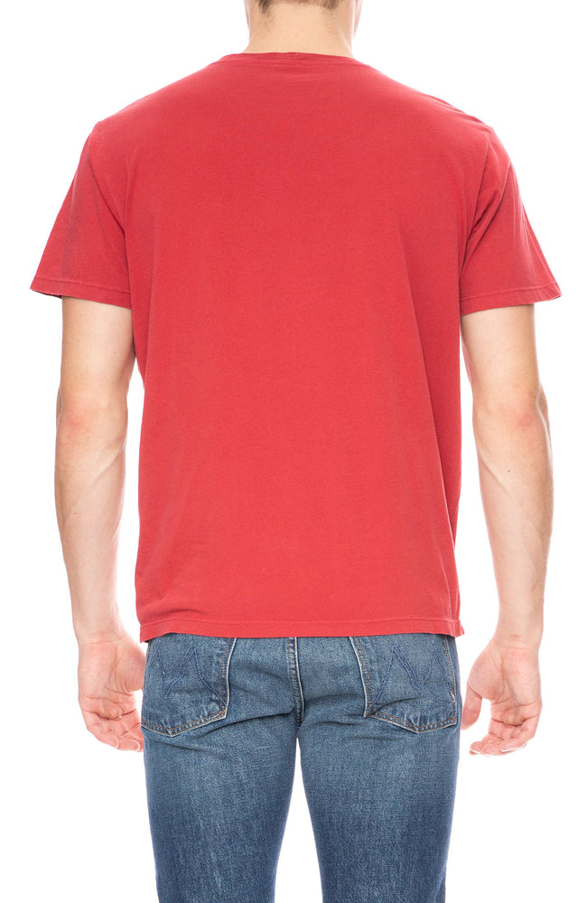 Mother Buster Short Sleeve T-Shirt in Hot Sauce Red at Ron Herman