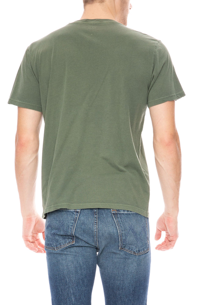 Mother Buster Short Sleeve T-Shirt in Olive Green at Ron Herman