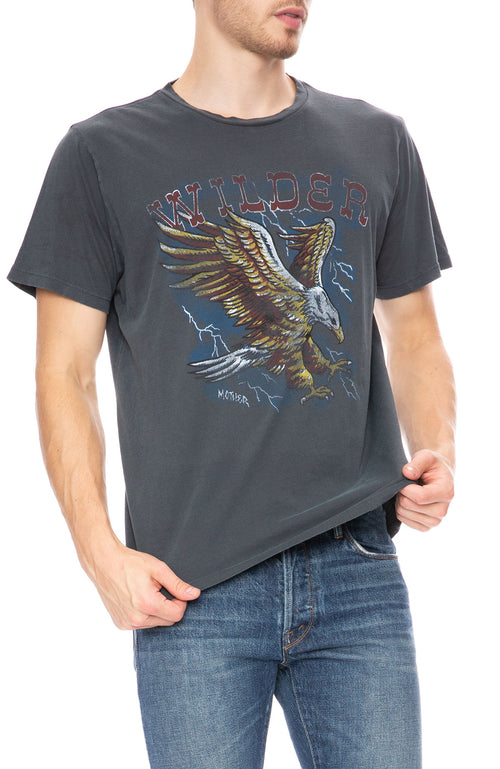 Mother Mens Buster Wilder Short Sleeve T-Shirt at Ron Herman