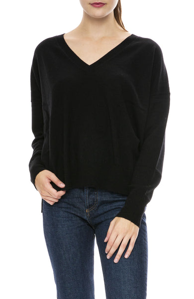 Autumn Cashmere Relaxed V Neck Sweater