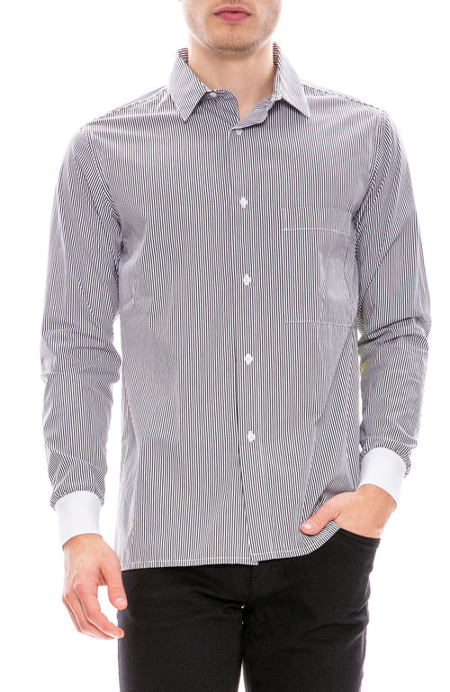 Tim Coppens Stripe Long Sleeve Shirt at Ron Herman