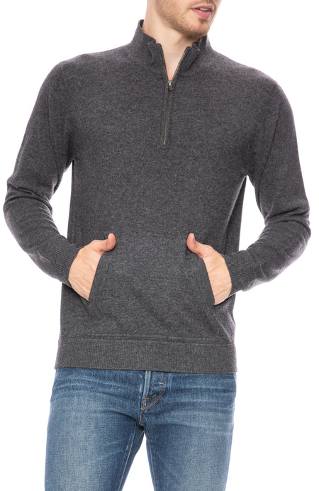 Exclusive Cashmere Mock Neck Sweater