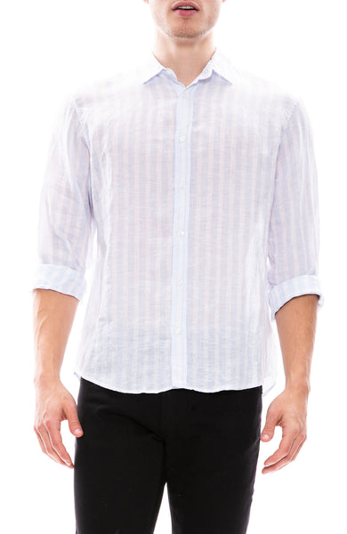 Frank & Eileen Paul Linen Button Down Shirt at Ron Herman
