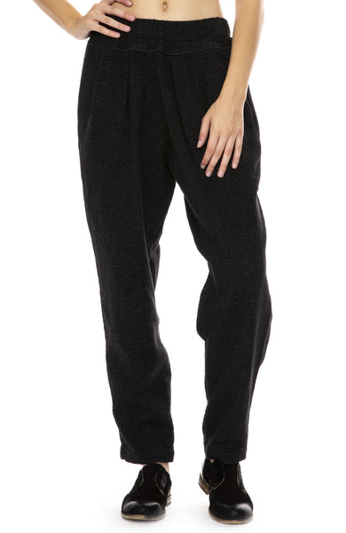 Black Crane Carpenter Pants in Black