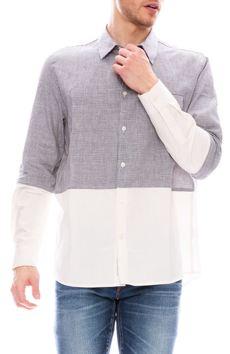 Arthur Split Fabric Shirt