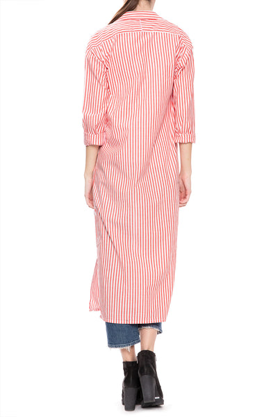 Stateside Oxford Long Shirt Dress at Ron Herman