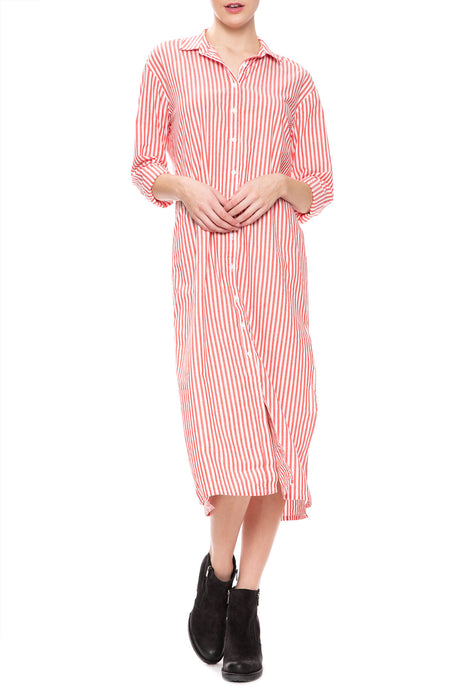Oxford Long Shirt Dress